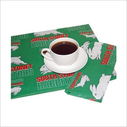NRL Rabbitohs Placemats (Set of 4) C A Australia