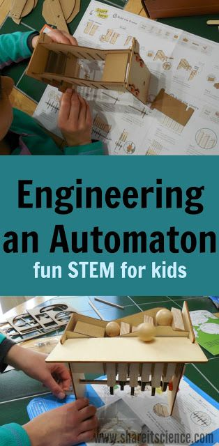 Share it! Science : Build Your Own Automaton: Fun STEM Engineering Pro...