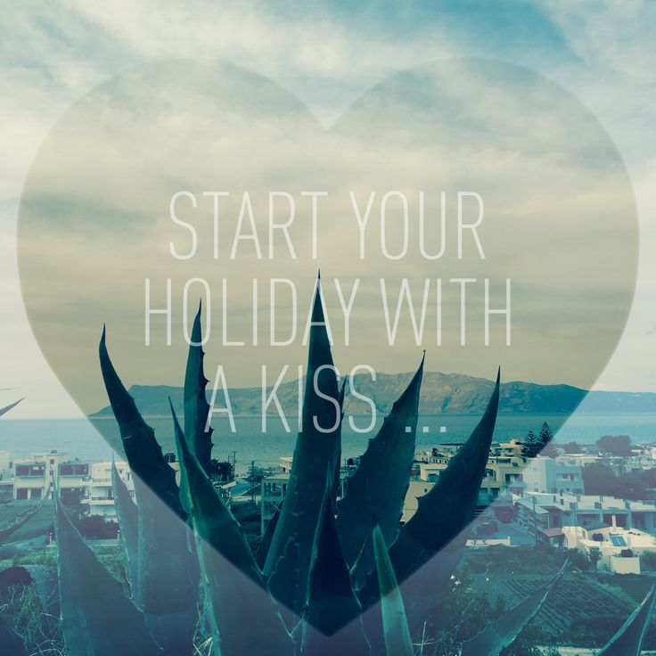 Start your holidays, with a Kiss... Kissamos ...