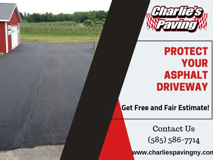 Want to Bring your driveway back? Contact Charlie's