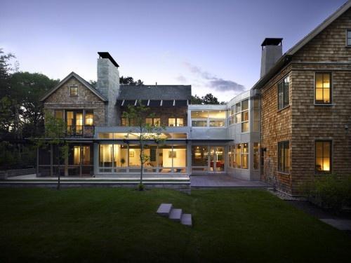New England Contemporary   Contemporary   Exterior   Boston   LDa  Architecture U0026 Interiors