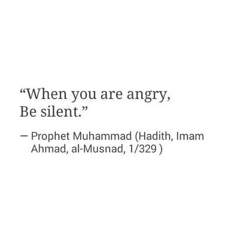 """When you are angry, be silent."" Prophet Muhammad ! http://www.dawntravels.com/umrah.htm"