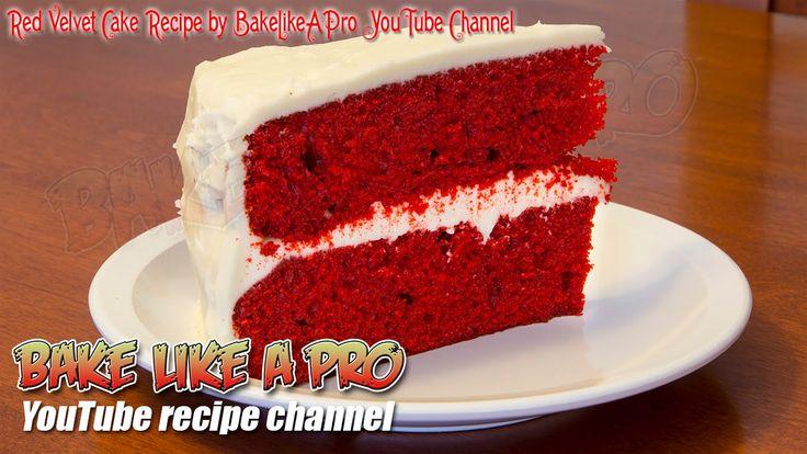Easy Red Velvet Cake #Recipe By BakeLikeAPro https://t.co/Uu1JIuYGyK @YouTube #RedVelvet #cake #love #food https://t.co/giS99CvhIq