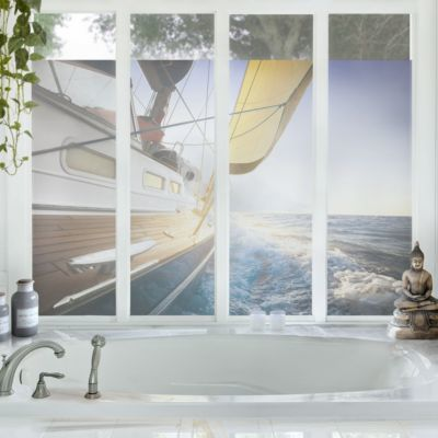 die besten 25 sichtschutz fenster ideen auf pinterest k chenfenster vorh nge gardinen f r. Black Bedroom Furniture Sets. Home Design Ideas