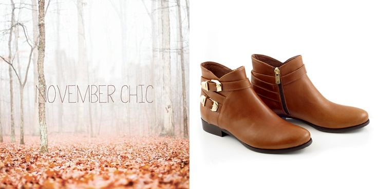 Seize the day, choose your color...  tinyurl.com/ommxzy3 #flatboots #ankleboots #boots #fallboots #fashionshoes #chaniotakis
