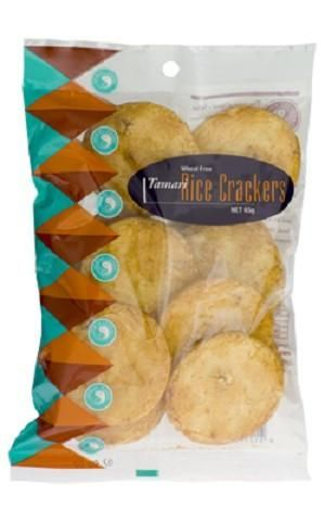 Spiral Tamari Crackers 65g - $4.50  At Spiral Foods only offer products are made by people with a passion for wholesome traditional foods of the highest standards and quality.Good, safe, wholesome food is a basic human right. Our foods continue to provide  nourishment and wellbeing across the generations of people who take care about the food they eat and our earth.