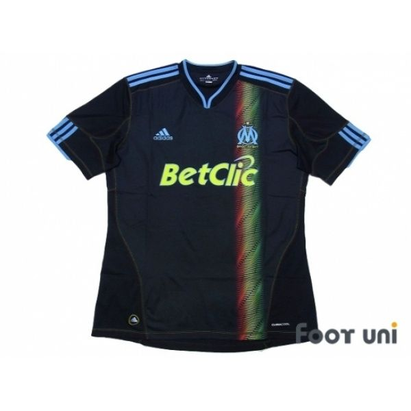 Photo1: Olympique Marseille 2010-2011 3RD Shirt #adidas - Football Shirts,Soccer Jerseys,Vintage Classic Retro - Online Store From Footuni Japan