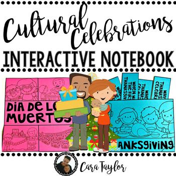 Included in this interactive notebook are the following holiday celebrations:~Dia de los Muertos~Thanksgiving~Hanukkah~Rosh Hashanah~Kwanzaa~Christmas~Easter~Lunar New Year~Ramadan~PLUS three bonus writing activities!Students will focus on what the celebrations are, why they're important, when they are, who celebrates them, and more!