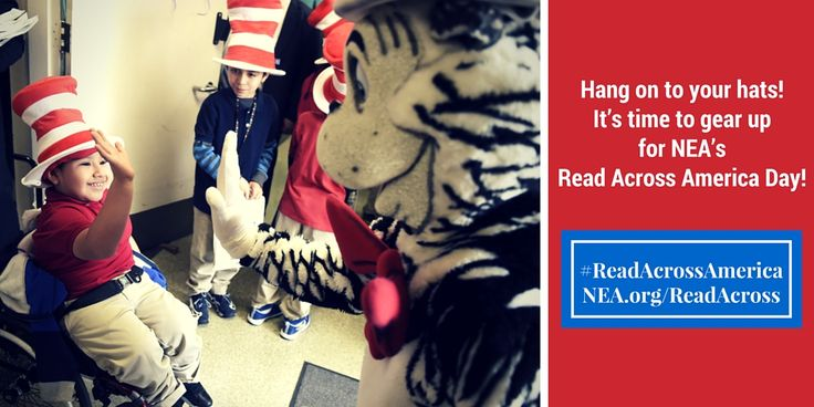 We know you love Read Across America, you can update your social media profiles using these images!