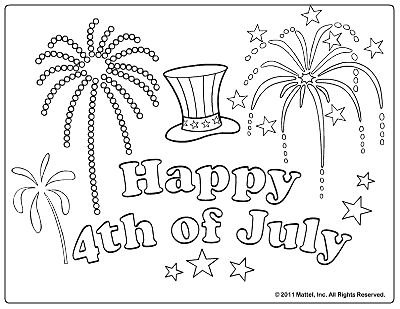 14 best 4th of July drawings images on Pinterest | Coloring pages ...