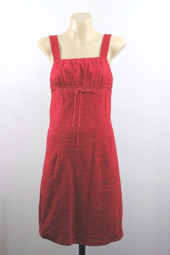 Size S 10 Ladies Red Dress Retro Pinup Rockabilly Wiggle Pencil Casual Design #HotOptions #EmpireWaist #Casual