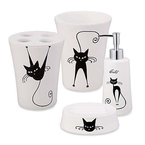 Liven Up Your Bathroom Decor With The Fun Jovi Home Cats Collection This Contemporary Accessory