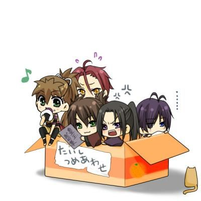 chibi Hakuouki! I'll take them all!!! XD