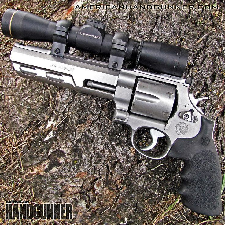 Big bore revolver or whole lotta wheelgun. The S&W Performance Center Model 629 Competitor Model with 6″ weighted barrel in .44 Mag. (with Leupold scope) can cross over into handgun hunting nicely. From the 2017 July/August issue of American Handgunner available @americanhandgunner.com ---------- #americanhandgunner #smithandwesson #performancecenter #model629 #wheelgunwednesday #wheelgun #bigbore #44mag #igmilitia #gunstagram #gunsofinstagram #2a #righttobeararms #madeinamerica #merica…