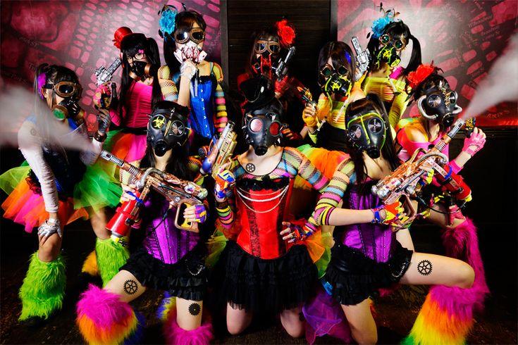【仮面女子】スチームガールズ:仮面女子 OfficialWebSite | アリスプロジェクト【最強の地下アイドル】