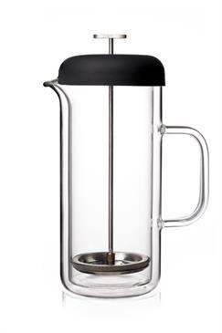 http://www.thekitchenette.fr/ustensiles-de-cuisine-m/Cafetières/Cafetière-à-piston-0-8l-en-verre-double-paroi-9102120--Viva-Scandinavia/5115 Cafetière à piston 0.8L en verre double paroi Viva Scandinavia  #cafetière #piston #verre #design #scandinave