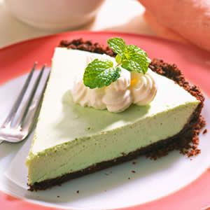 Holiday Recipes: 3. Grasshopper Mint Pie: Makes: 8 servings; Prep: 20 minutes; Chill: 4 hours or overnight; Cook: 14 minutes. We can't write the entire recipe here.. Because of the max text.. But, you can read it at our site.! Enjoy it :)