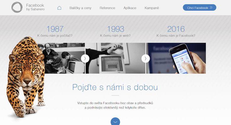 Máte rádi minimalismus? Mrkněte se na ukázku webové stránky, kterou jsme vytvořili pro představení naší služby ➡ https://facebook.sabanero.cz/. Co na ni říkáte? :-) https://www.shopnero.cz/ #Facebook #web