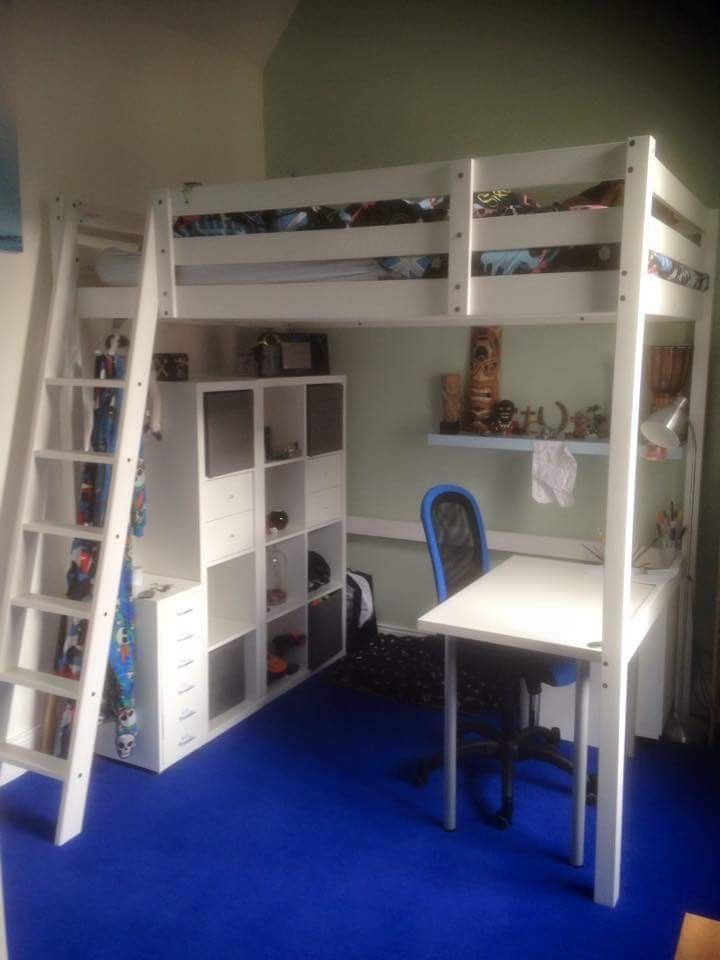 Stora Loft Bed With Images Loft Beds For Small Rooms Loft