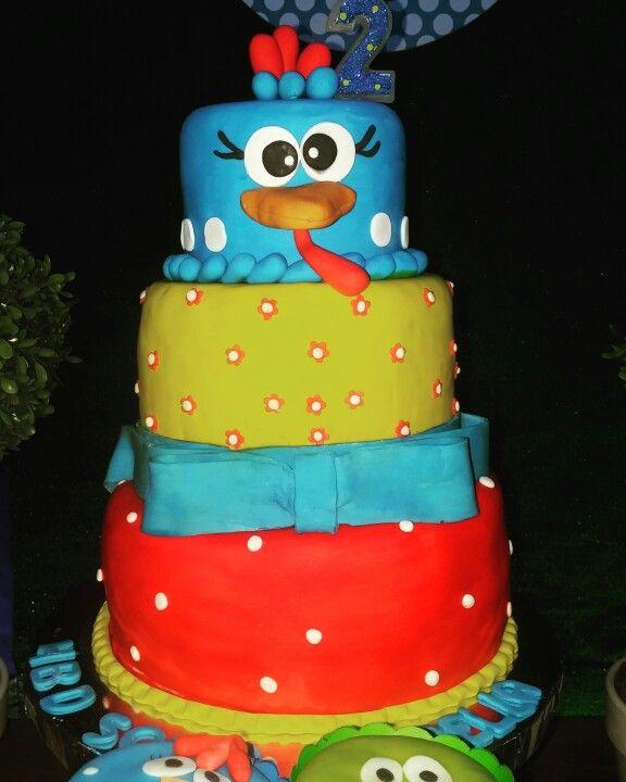 Cake gallina pintadita