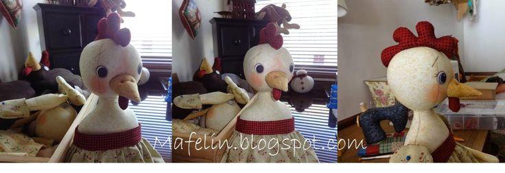 Country Chicken dolls