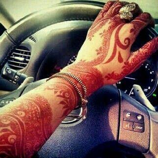 // gorgeous khaleeji henna.