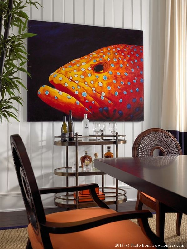 Painting Dining Room Style Endearing Design Decoration