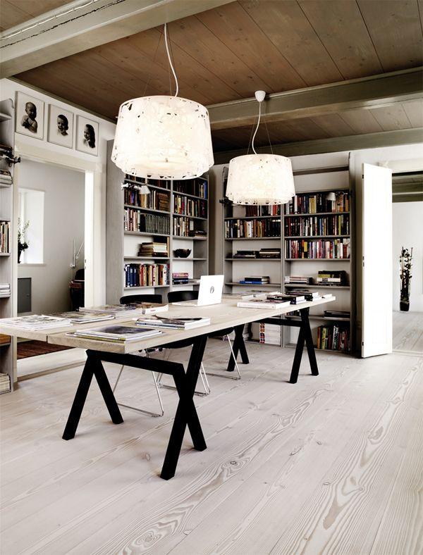 Scandinavian style: Dinesen Wood Floor