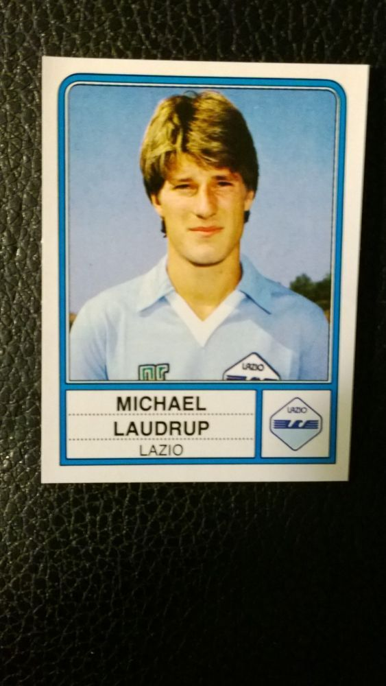 michael laudrup rookie sticker - panini calciatori 1983-84 - mint condition from $28.36