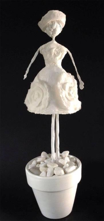 Sculpture en papier Kimido