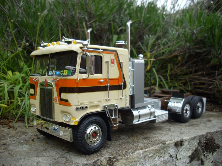 Kenworth K123 AMT #heavyhauling | Kenworth Scale Models ...