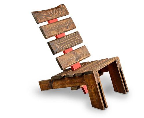 Stuhl | Paletten | (Furniture Designs Upcycle)