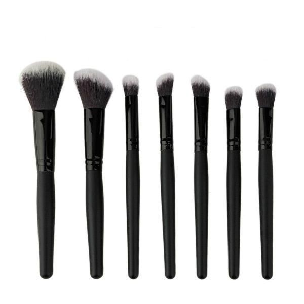 7pcs Nylon Hair Makeup Brush Set