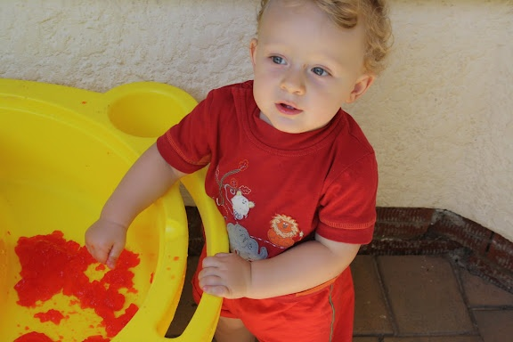 James - in his Hoolie shirt