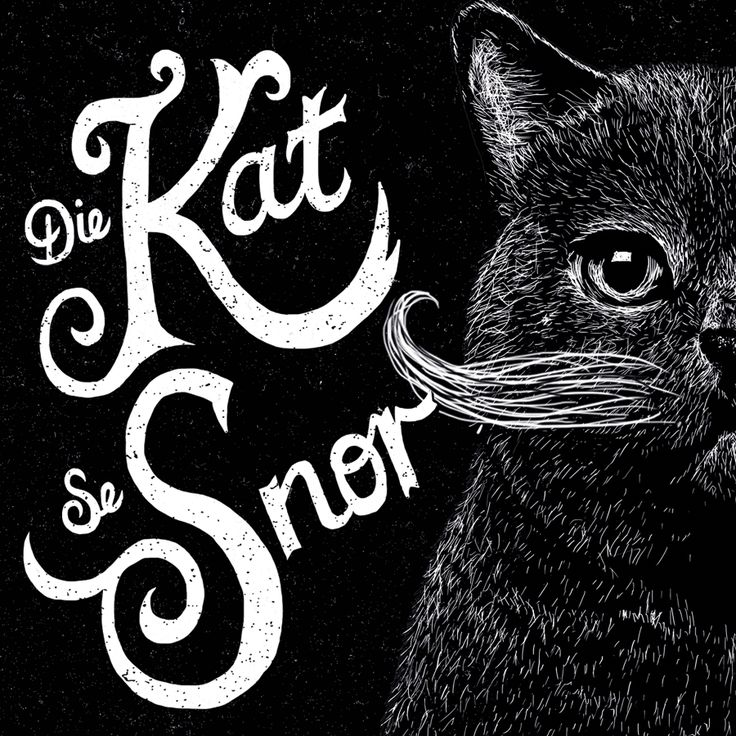 """Check out this @Behance project: """"Die Kat se Snor Wine Label"""" https://www.behance.net/gallery/45399823/Die-Kat-se-Snor-Wine-Label"""