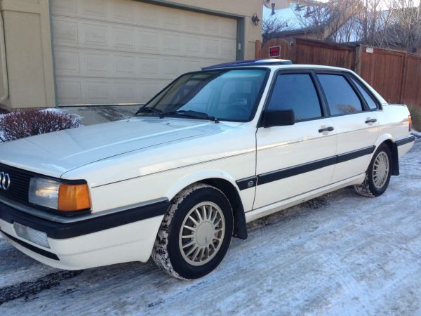 Spotted 1985 Audi 4000s West County Explorers Club