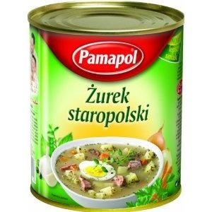 Pamapol Traditional Polish Sour Rye Soup Zurek 780 g (Pack of 3): Amazon.co.uk: Grocery