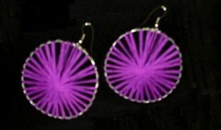 """Pendientes """"flor de loto"""", enviados por Cristina - IMujer"""