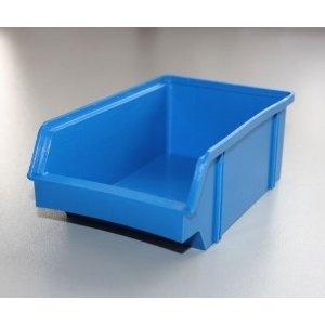 20 Stück Set Stapel - Aufbewahrungs - Box . Stapelboxen Stapelbar Farbe blau aus Kunststoff . Boxen Deutsche Herstellung