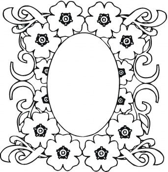 flower page printable coloring sheets flower coloring pages on mirrow in the flowers coloring page