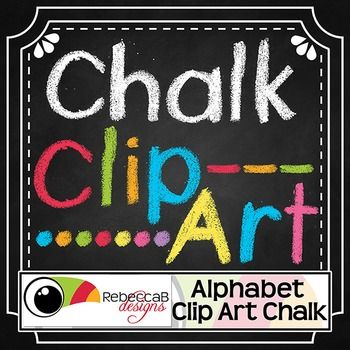 Alphabet Clip Art Chalk set contains 675 individual Alphabet Clip Art letters in upper and lower case, Clip Art Numbers 0-9 and Clip Art Symbols, all in a Hand Drawn Chalk theme. There are 9 different colored sets including black and white. Alphabet Clip Art Chalk by RebeccaB Designs.You will find my other Alphabet Clip Art sets using the following links:{Alphabet Clip Art - Gradient}{Alphabet Clip Art - Polka Dot}You will find chalkboard backgrounds using the fo