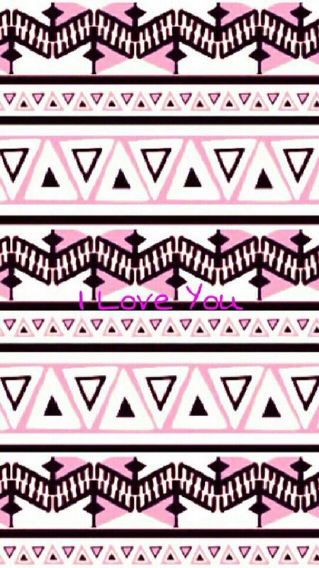 #wallpapers #pink #black #white #Ily #iloveyou #I #love #you #pretty