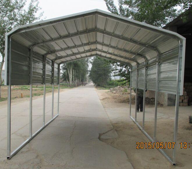 3.3x6m Metal Carport Size:6m(L)x3.3m(W) Model No.:NZ-CH633