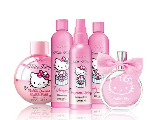 Segredos perfumados da Hello Kitty!