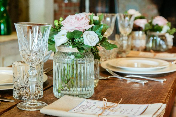 Rustic, Country and Shabby tuscan centerpiece