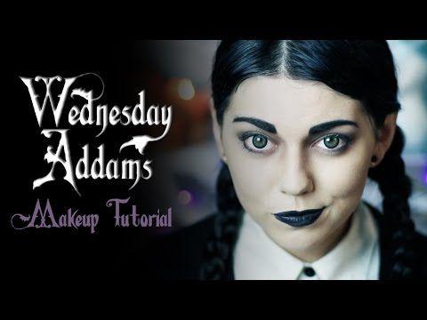 Wednesday Addams Makeup Tutorial! - YouTube