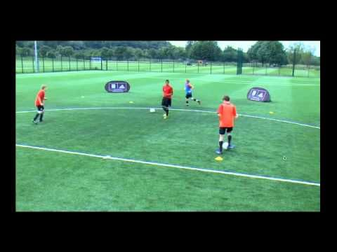 Coerver Pass and Move Squ w 4 players - YouTube Great warm up drill before games. Use as a complex Stage 1 drill or as a Stage 2 drill.