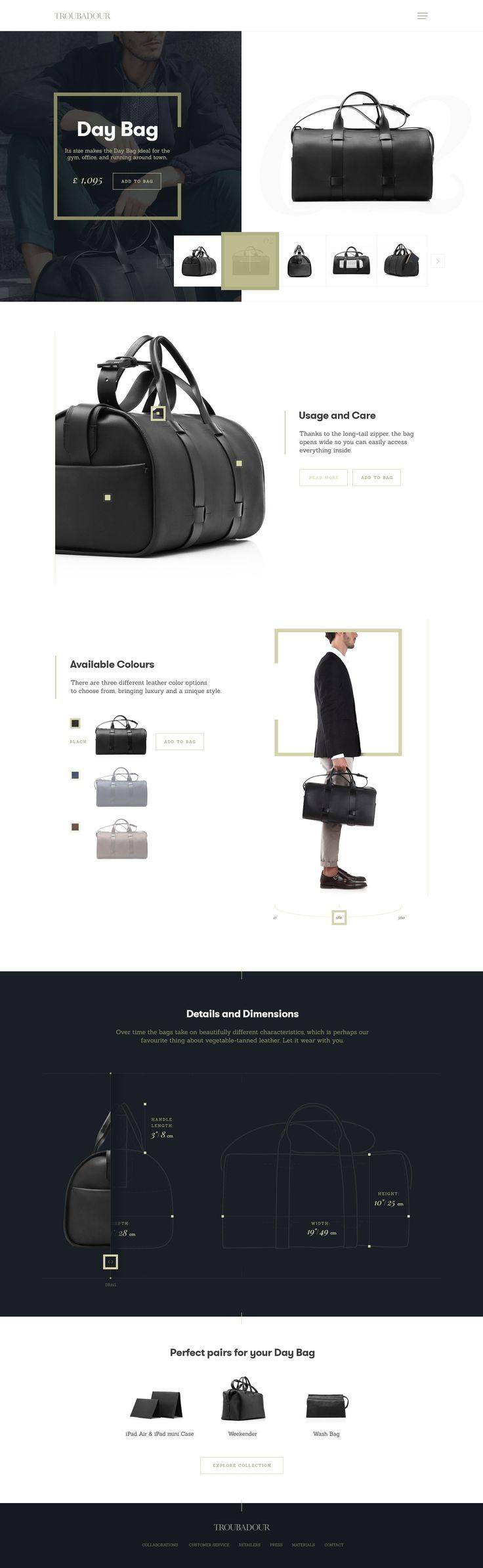 Web Design Inspiration: Product Pages - Web Design Ledger
