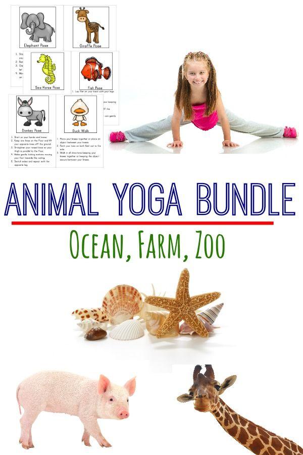 Animal Yoga Bundle Yoga Poses The O Jays And Zoos
