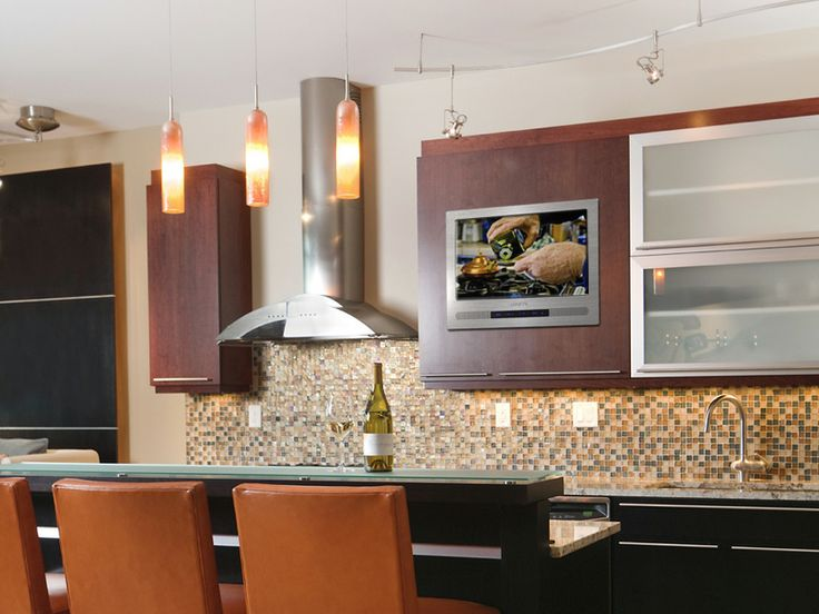15 best Cabinet Door Kitchen TV images on Pinterest | Kitchen tv ...